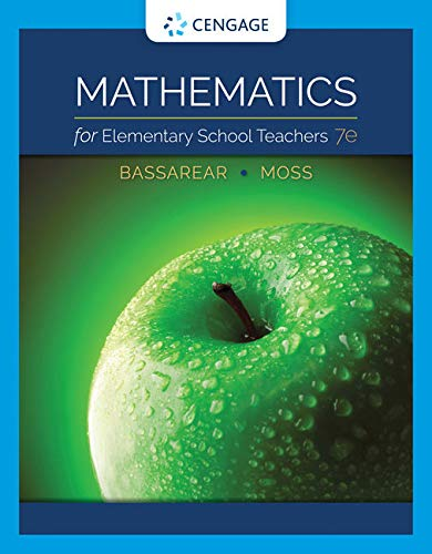 WebAssign for Mathematics for Elementary School Teachers, 7th Edition [Online Code] by Cengage Learning