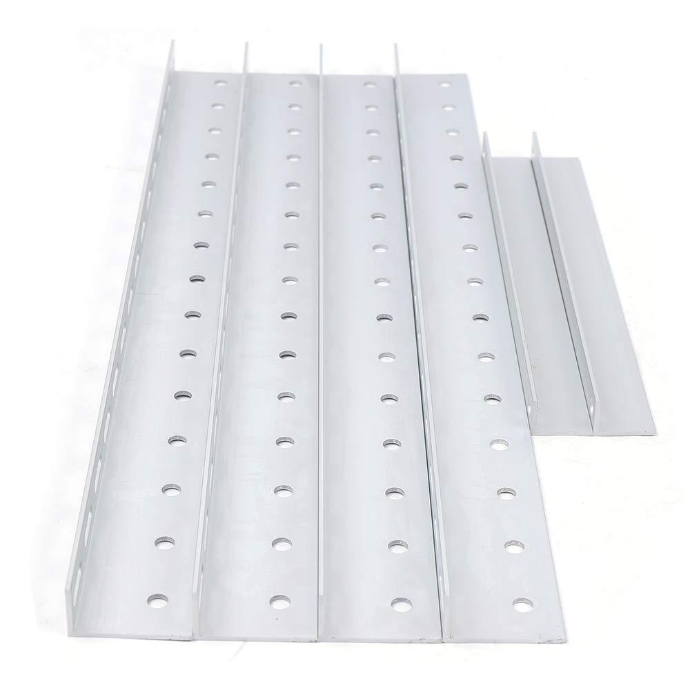 Support de panneau solaire RV,Fixation du support solaire r/églable 556mm convenant jusqu/à 100Watt,Supports de montage inclinables pour panneau solaire