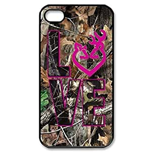 Browning Love Camo pattern Image 4 Case Cover Hard Plastic Case tive 4s / for ipod touch 4protec