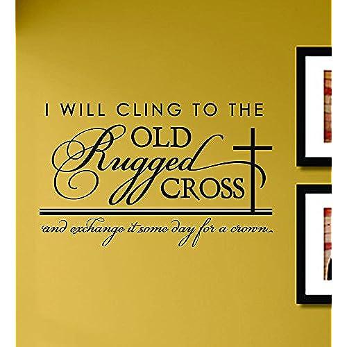 Old Rugged Cross Wall Decor: Amazon.com