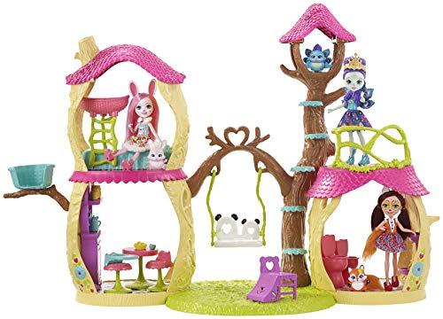 Enchantimals Casa Divertida Panda, casa de muñecas (Mattel FNM92) , color/modelo surtido