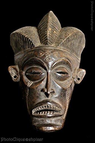 African - Tribal Art / Chokwe Pwo Face Mask Portrait / Ethnographic Series / Fine Art Photo Print