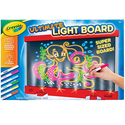 Crayola Ultimate Light Board Red, Gift for Kids, Amazon Exclusive