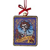 Limited Time Offer on Kurt Adler Glass Grateful Dead Ornament, 4.25-Inch.