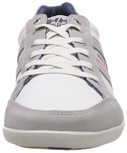 Helly Hansen Carrick S&C Zapatillas de deporte exterior, Hombre Gris / Blanco (800 New Light Grey / Off White)