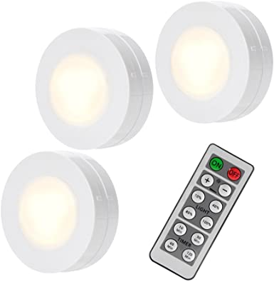ideal Super bright LED light push switch off or remote control decoration