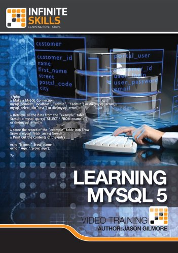 Learning MySQL 5 for Mac [Download] by Infiniteskills