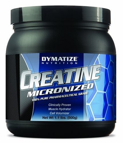 Dymatize Nutrition Creatine Micronized Powder, 1.1 Pound