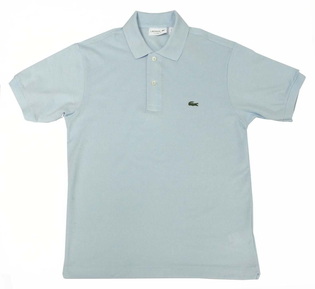 ラコステ メンズ LACOSTE MENS ベーシック 半袖 ポロシャツ ポロ トップス メンズ 男性用 Men's Standard S/S Polo shirt ( L1212 ) [並行輸入品] B01N19HSVE 5-L日本(XL) ライトブルー ライトブルー 5-L日本(XL)