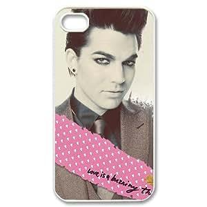 Custom Adam Lambert Hard Back Cover Case for iPhone 4 4S CY1299