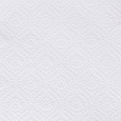 Brewster RD335 Anaglypta Wallpaper, 21-Inch x 396-Inch, Whites