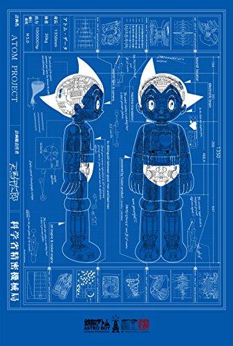 Tokyo Toys Tezuka Astro Boy Poster W62 x H92 cm