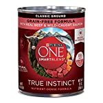 Purina ONE SmartBlend True Instinct Adult Canned Wet Dog Food 12