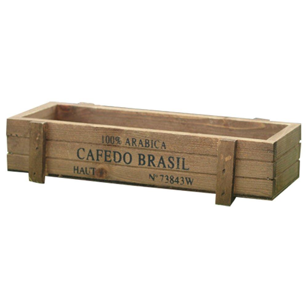 Jardinera de madera vintagehttps://amzn.to/2Rwci6N