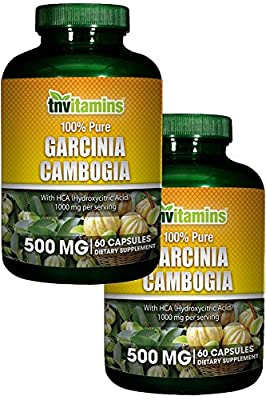 TNVitamins Garcinia Cambogia 1000 Mg with HCA