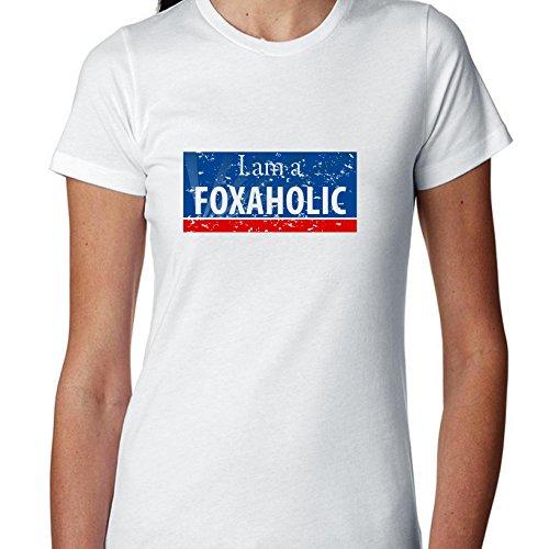 I Am A Foxaholic - Fox News Love Women's Cotton T-Shirt