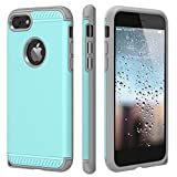 iPhone 7 Case,CHTech iPhone 8 Case Armor Shock Absorbing Dual Layer Case with Heavy Duty Drop Protection and Scratch Resistant Cover for Apple iPhone 7 / iPhone 8 [Mint] For Sale