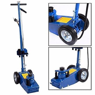 Wakrays 22 Ton Air Hydraulic Floor Jack HD Truck Lift Jacks Service Repair Lifting Tool by Wakrays