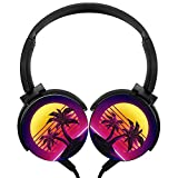 Sunset Coconut Trees Stereo Headphones Lightweight With Mic - Best Reviews Guide