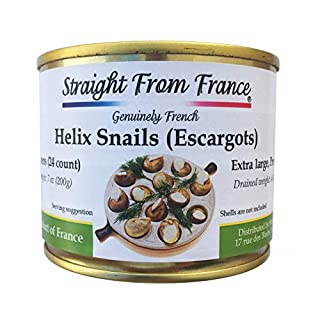 Straight from France Extra large French Lucorum Canned Escargots Snails (2 Dozens)