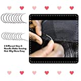 Weaving Needle Combo Deal 3Pcs Black Thread with