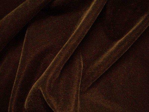 Dark Brown Velvet Fabric 45 By the Yard by Velvet by Graham & Spencer   B0084XH18E