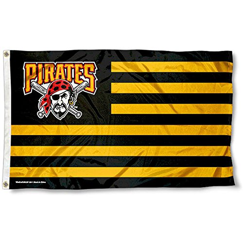 MLB Pittsburgh Pirates Nation Flag 3x5 Banner