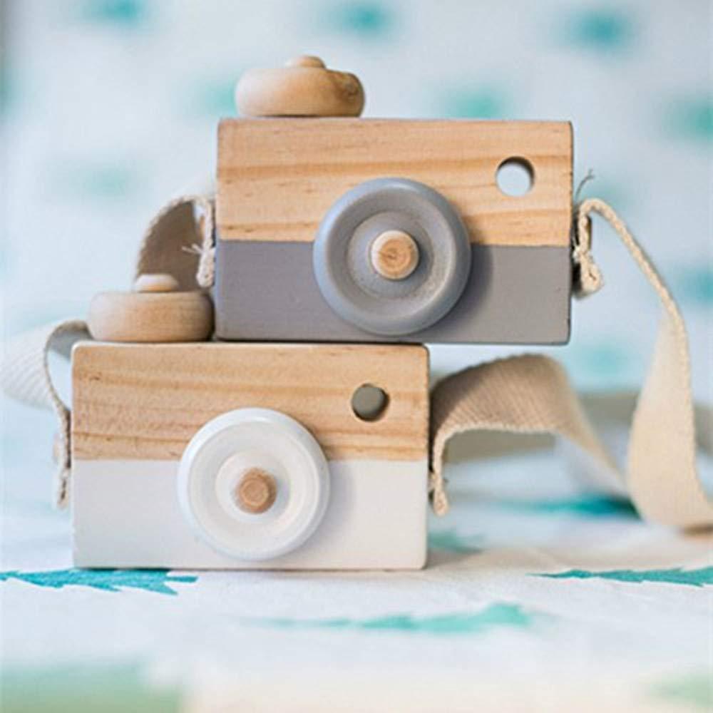 caméra décorative en bois ritawell