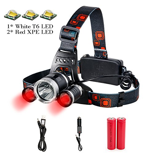 Led 4 Mode Headlamp Light Torch Camping Flashlight - 2