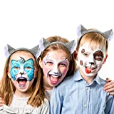 WILLBOND 9 Pieces Wolf Theme Costume Set Include