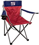 NFL New York Giants NFL Kickoff Quad Folding Chair New York Giants, Blue, 250lb rating
