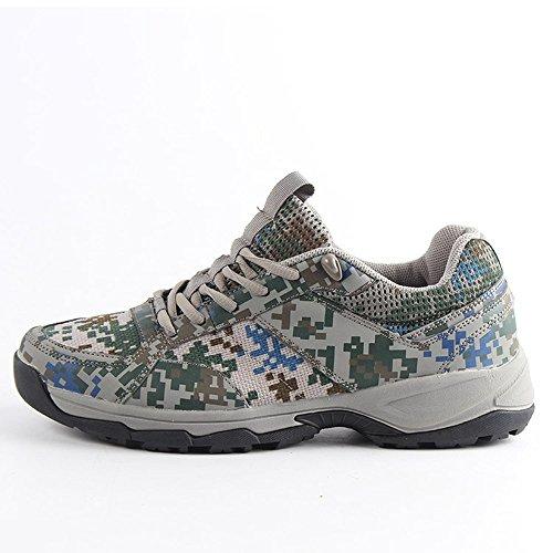 La Formación De Camuflaje Al Aire Libre De La Selva CHT Primavera Verano Otoño Jiefang Xie Zapatos Para Correr Senderismo De Tamaño Multi-código Opcional Gray