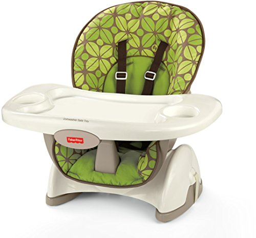 Folding Booster Chair (Fisher-Price SpaceSaver High Chair, Rainforest Friends)