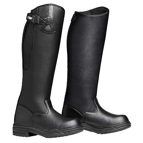 Mountain Horse Rimfrost Rider III Boots 8R Black (Mountain Horse Riding Boots)