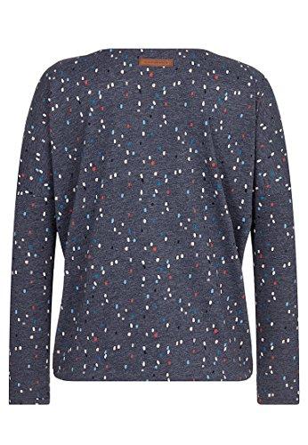 Naketano Gräfenberg-Zone Female Sweatshirt Indigo Blue Melange, XS