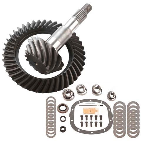 3.42 RING AND PINION & MASTER BEARING INSTALL KIT - COMPATIBLE WITH GM 7.5 10 BOLT ()