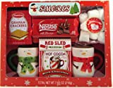 """Holiday S'mores & Hot Cocoa Gift Set w/ Ceramic Mugs - """"Limited Time Only"""""""