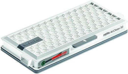 DishyKooker - Elemento de Filtro de Repuesto para Miele HE-PA AirClean SF-HA 50: Amazon.es: Hogar