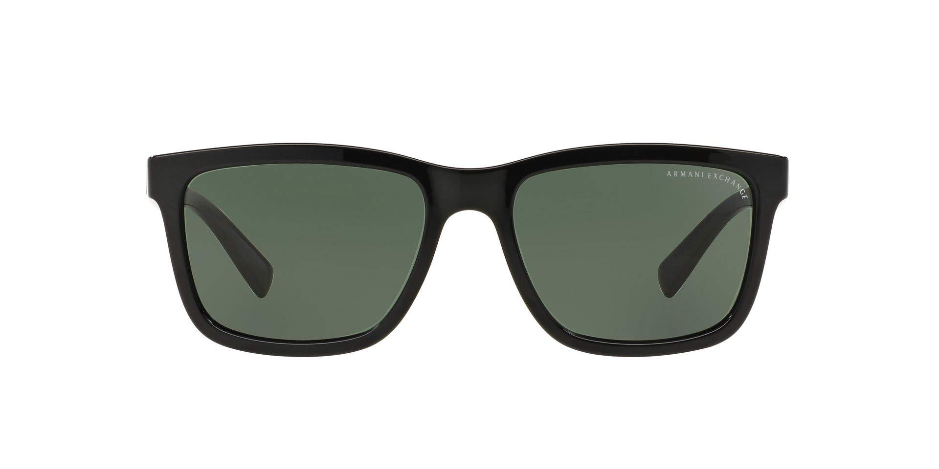 Men's Ax4045s Rectangular Sunglasses
