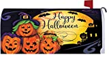 Happy Halloween - Mailbox Makeover - Vinyl with Magnetic Strips - Licensed, Copyrighted and Made in the USA by Custom Decor Inc.