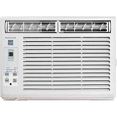 Frigidaire Window-Mounted Compact Air Conditioner with Temperature Sensing Remote Control