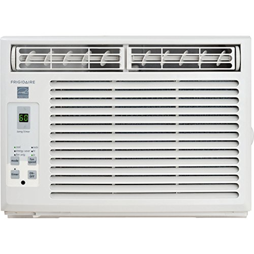 Frigidaire FFRE0533S1 5,000 BTU 115V Window-Mounted Mini-Compact Air Conditioner with Full-Function Remote Control by Frigidaire