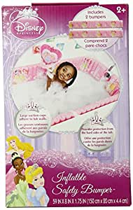 Disney Inflatable Safety Bathtub Bumpers, Princess (Discontinued by Manufacturer)