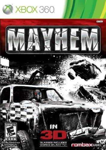 Mayhem 3D - Xbox 360 (Demolition Derby Xbox 360)