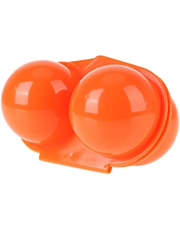 Globeagle Caja de almacenamiento para 2 huevos