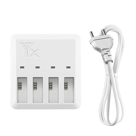 Diadia - Cargador de batería 4 en 1 con cable de carga para ...