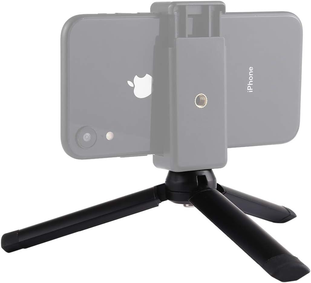 10kg YANTAIANJANE Camera Accessories Mini Pocket Metal Desktop Tripod Mount with 1//4 inch Screw for DSLR /& Digital Cameras Max Load