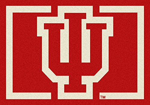 NCAA Team Spirit Door Mat - Indiana Hoosiers ''IU'', 56'' x 94'' by Millilken
