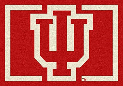NCAA Team Spirit Door Mat - Indiana Hoosiers ''IU'', 56'' x 94'' by Millilken