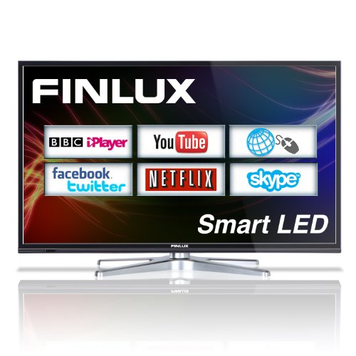 Finlux 40F8073-T 40'' Smart LED Full HD TV with Web Browsing, Netflix, Skype, Freeview HD & PVR